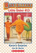 Baby-sitters Little Sister 13 Karens Surprise ebook cover