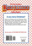 Baby-sitters Little Sister 104 Karens Christmas Carol back cover