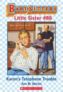 Baby-sitters Little Sister 86 Karens Telephone Trouble ebook cover