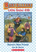 Baby-sitters Little Sister 36 Karens New Friend ebook cover