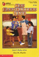 BSC 36 Jessis Baby-Sitter original cover