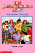Stacey Hates Shopping Baby-sitters Club mini book cover