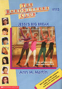 Baby-sitters Club 115 Jessis Big Break cover