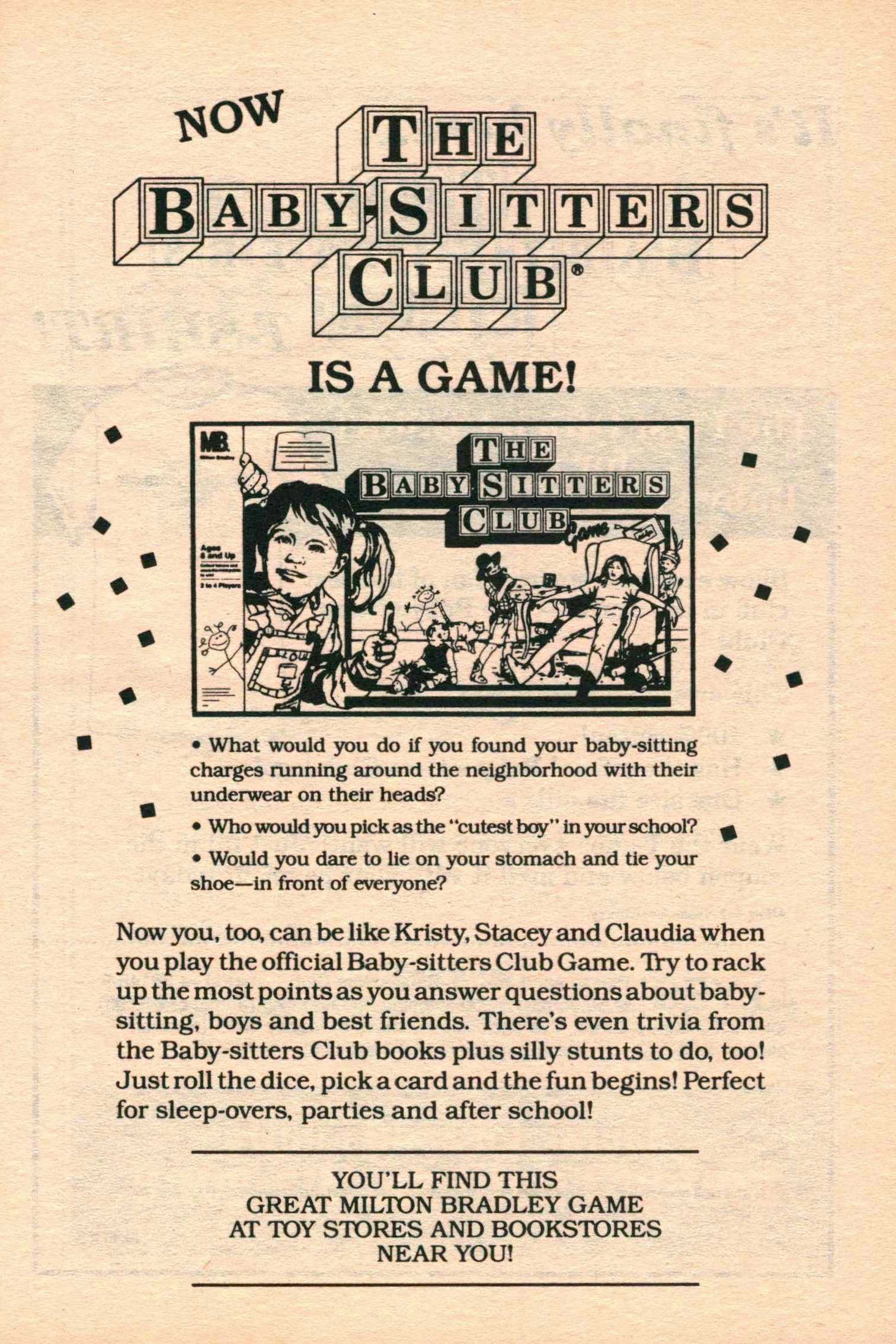 Humbird0 Games Cool the baby-sitters club game | the baby-sitters club wiki | fandom
