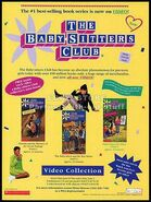 1993 Baby-sitters Club TV show VHS KidVision trade print ad