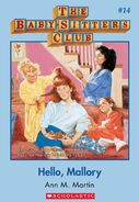 Baby-Sitters Club 14 Hello Mallory cover