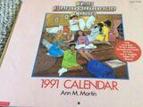 1991 BSC calendar
