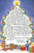 Secret Santa Card 3 Eliza to Santa inside