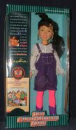 Claudia 1993 Kenner doll box front