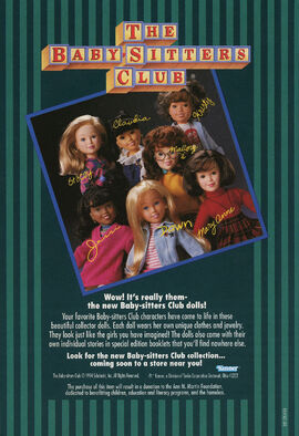 BSC Kenner 1993 dolls ad from mystery game