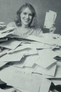 1989 with fan mail