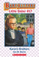 Baby-sitters Little Sister 17 Karens Brothers ebook cover
