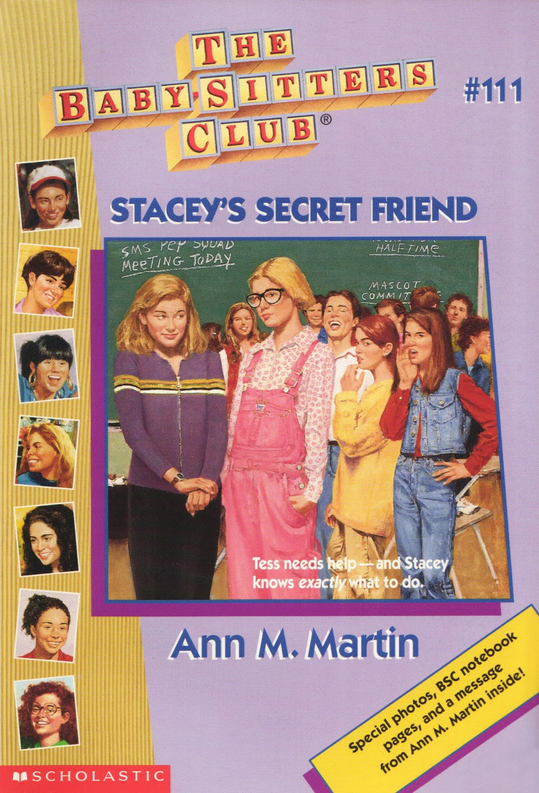 Stacey's Secret Friend