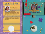 Baby-sitters Club 81 Kristy and Mr Mom audio tape case inside
