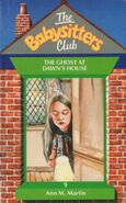Baby-sitters Club 9 The Ghost at Dawns House UK cover