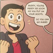 Graphic novel Buddy