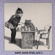 Mary Anne Age 4 from 1993 Calendar