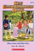 BSC 73 Mary Anne Miss Priss ebook cover