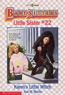 Baby-sitters Little Sister 22 Karens Little Witch cover