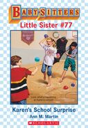 Baby-sitters Little Sister 77 Karens School Surprise ebook cover