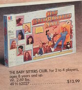 Baby-sitters Club game advertised in 1990 Sears Wish Book