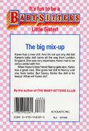 Baby-sitters Little Sister 23 Karens Doll back cover