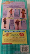 Kristy 1998 Kenner doll box back