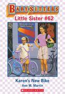 Baby-sitters Little Sister 62 Karens New Bike ebook cover