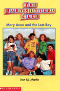 Mary Anne and the Lost Boy Baby-sitters Club mini book cover