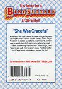 Baby-sitters Little Sister 16 Karens Goldfish back cover
