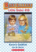 Baby-sitters Little Sister 16 Karens Goldfish ebook cover