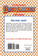 Baby-sitters Little Sister 114 Karens Chicken Pox back cover