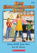 BSC 94 Stacey McGill Super Sitter ebook cover