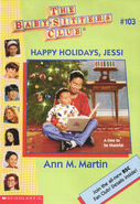 Baby-sitters Club 103 Happy Holidays Jessi cover