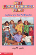 Mallory and the Pet Disaster mini book cover
