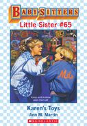 Baby-sitters Little Sister 65 Karens Toys ebook cover
