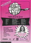 1994 BSC World Tour info sheet