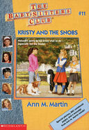 Baby-sitters Club 11 Kristy and the Snobs reprint cover