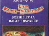 1. Sophie et la bague disparue