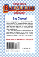 Baby-sitters Little Sister 5 Karens School Picture back cover