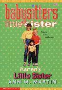 Baby-sitters Little Sister 6 Karens Little Sister reprint cover