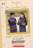 Kids Ms. Colmans Class 12 Baby Animal Zoo ebook cover