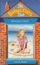Baby-sitters Club 8 Boy-Crazy Stacey UK cover