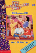 Baby-sitters Club 14 Hello Mallory reprint cover