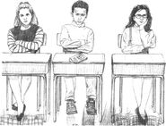 Students crossing arms Colman1-8