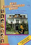 BSC - Stacey and the Mystery of Stoneybrook 1996 reprint cover