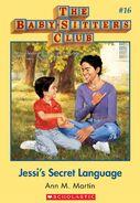 BSC 16 Jessis Secret Language ebook cover