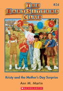 Baby-Sitters Club 24 Kristy and the Mothers Day Surprise cover