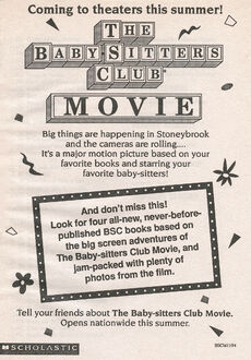 BSC movie four books bookad from 87 orig 2ndpr 1995