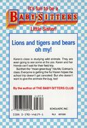 Baby-sitters Little Sister 24 Karens School Trip back cover